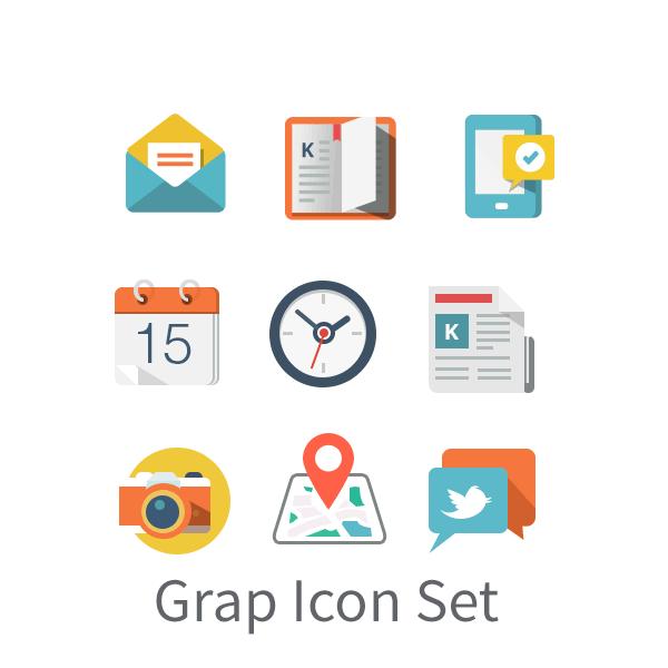 Grap Icon Set